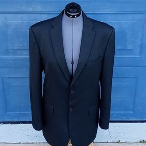 Jones New York Men's Classic Black Blazer